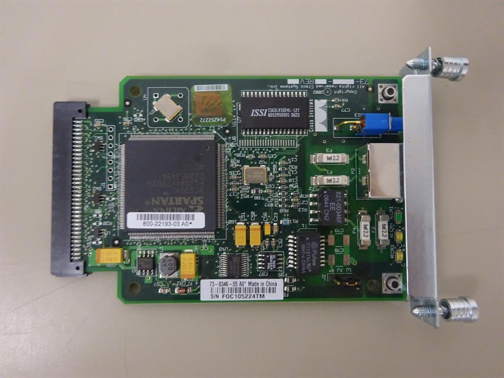 Cisco  WIC 1DSU-T1 V2 Circuit Card image