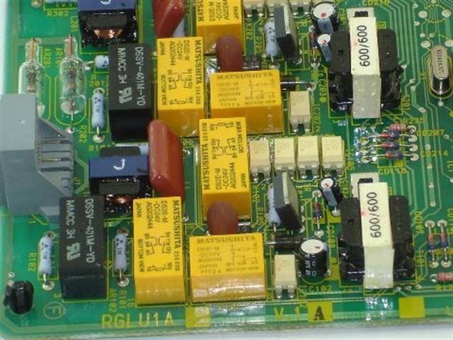 Toshiba RGLU1A Circuit Card image