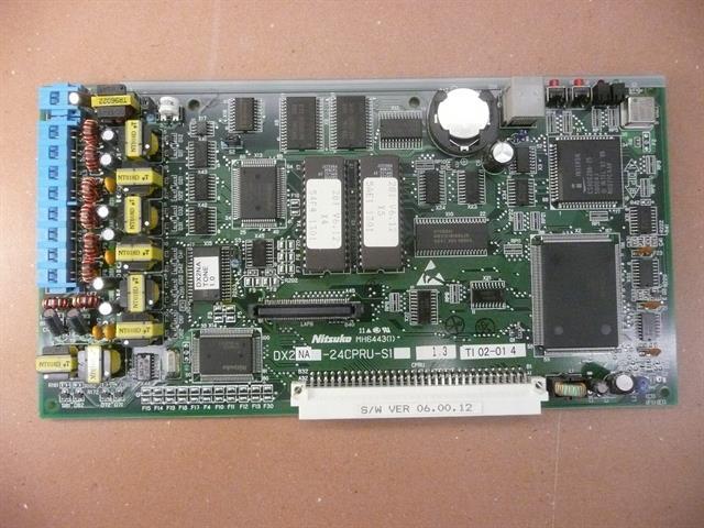 NEC - Nitsuko - Tie 92705 / DX2NA-24CPRU-S1 Circuit Card image