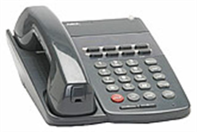 NEC Electra Professional ETW-8-2 730205 8 Button Electronic Telephone image