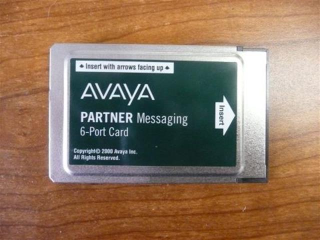 Avaya Partner Messaging 700262470 6 Port License PC Card image