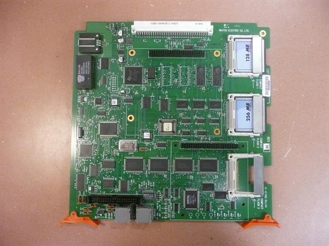 Iwatsu ECS  IX-4EVMC 4 Port Compact Flash Based Voice Mail Circuit Card image