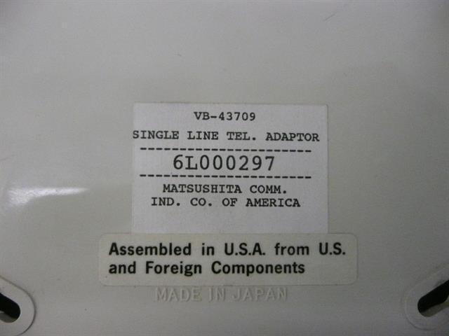 VB-43709 Panasonic image