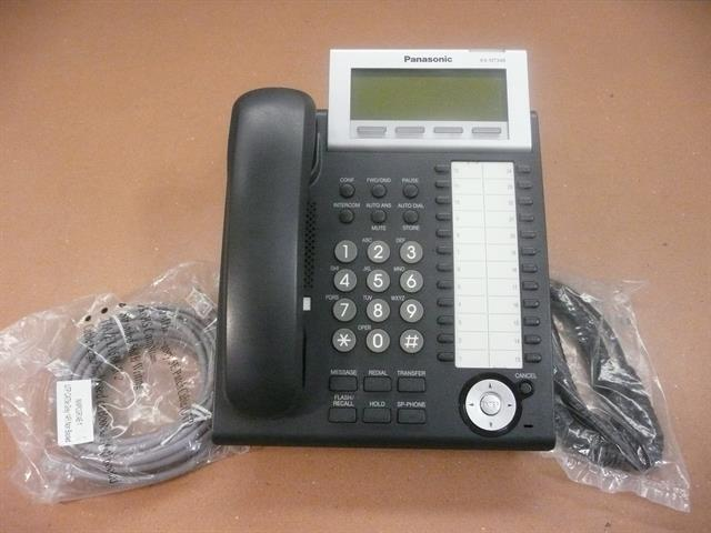 Panasonic KX-NT346-B Black 24 Button VoIP Telephone image