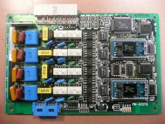 NEC PN-4COTG Circuit Card image