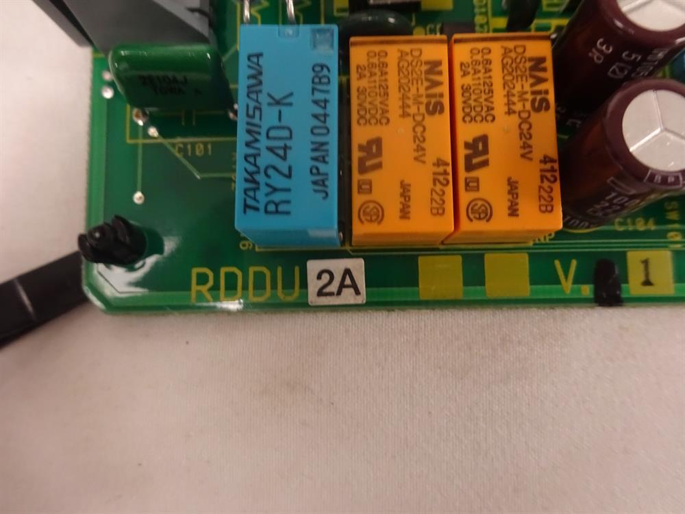 Toshiba RDDU2A Circuit Card image