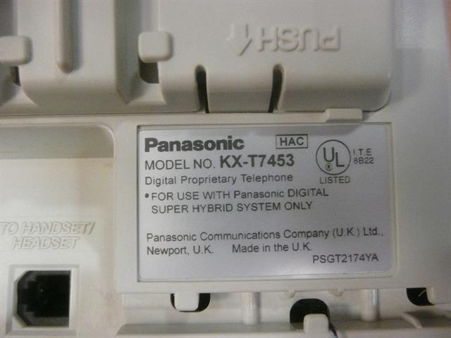 KX-T7453 Panasonic image