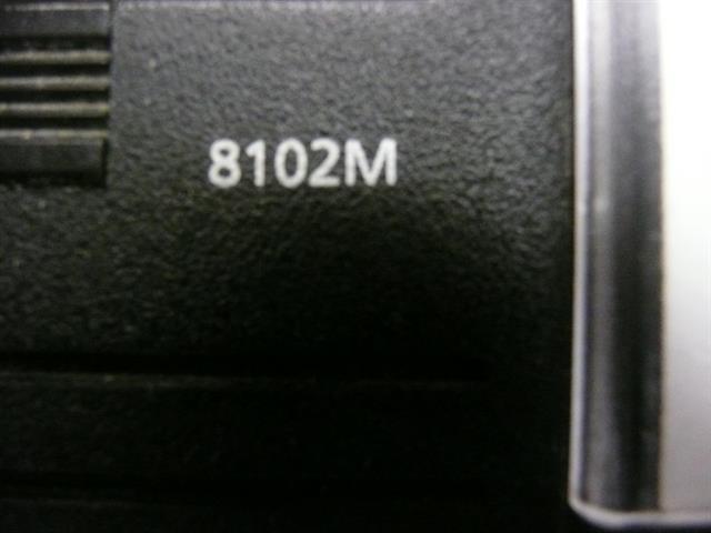Avaya 8102M Black Single Line Phone with 12 Speed Dial Keys image