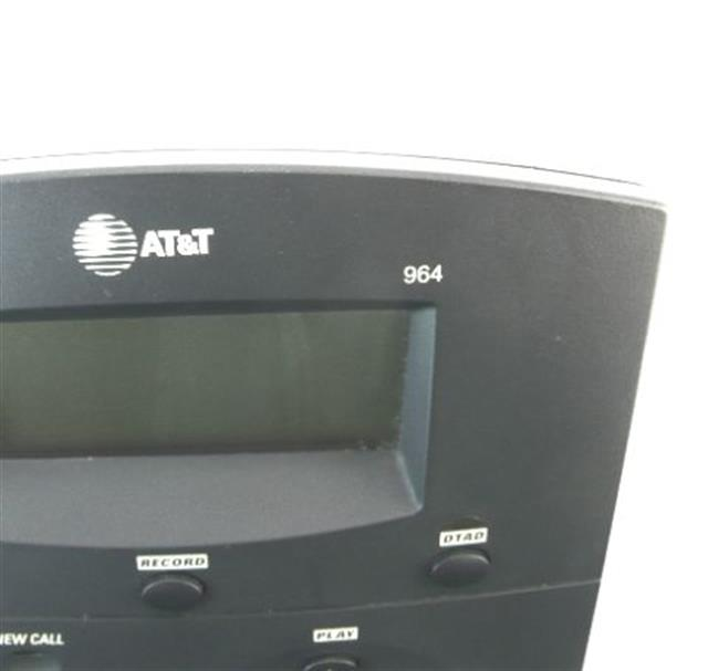 AT&T 964 Black 4 Line Telephone with Digital Answering System image
