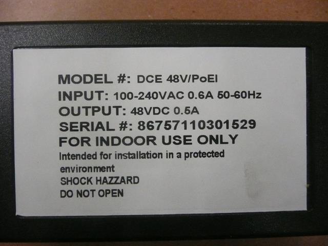 DCE DCE 48V/PoEI Module image