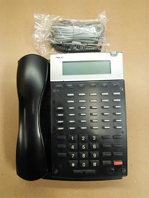 NEC Aspire IP1NA-24BTIXH 0890073 34 Button VoIP Telephone with Speakerphone and Display image
