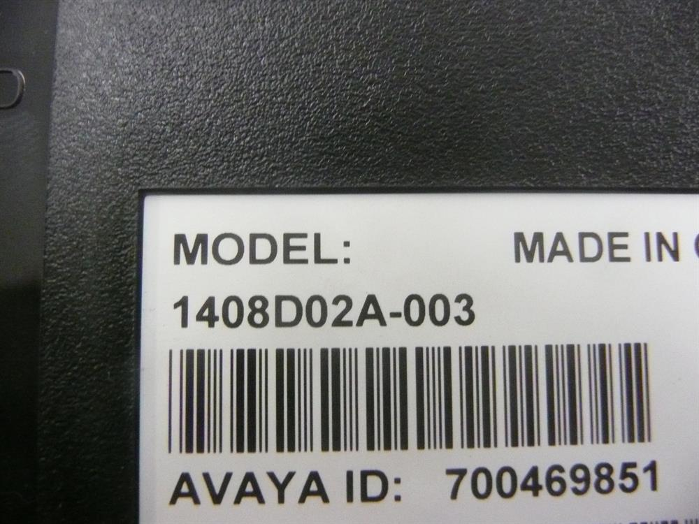 Avaya Digital Value Series 1408 700469851 8 Button Digital Telephone with Speakerphone and Backlit Display image