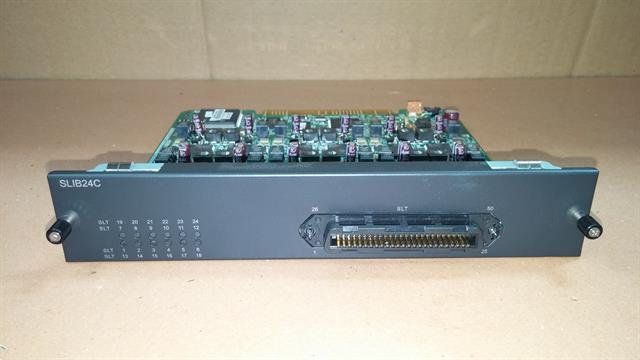 Vertical Communications MBX-IP SLIB24C 4533-24 24 Port Single Line Station (FXS) Circuit Card image