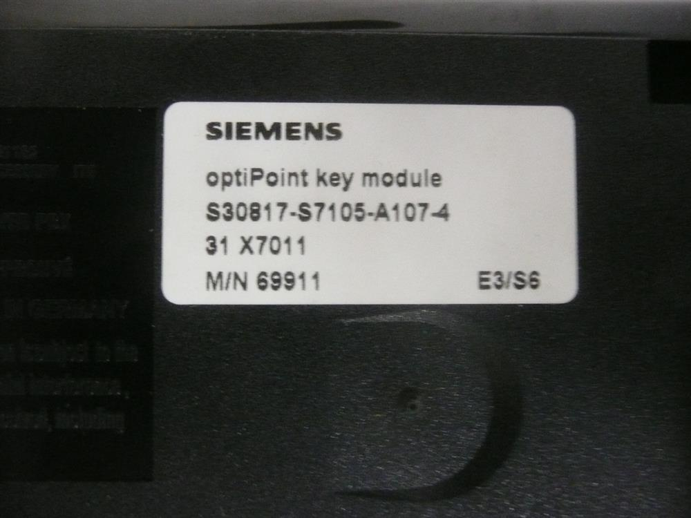 Siemens S30817-S7105-A107-6 / 69911 Module image