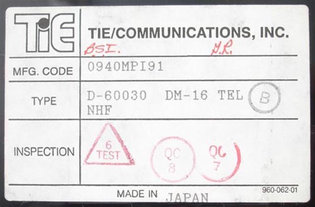 Tie 60030 Phone image