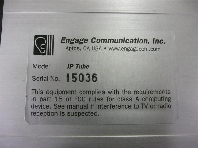 Engage Communication IPTube image