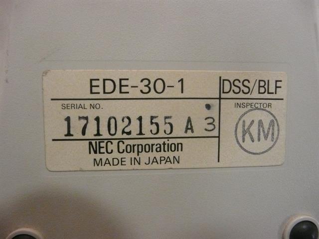 NEC EDE-30-1 Phone image