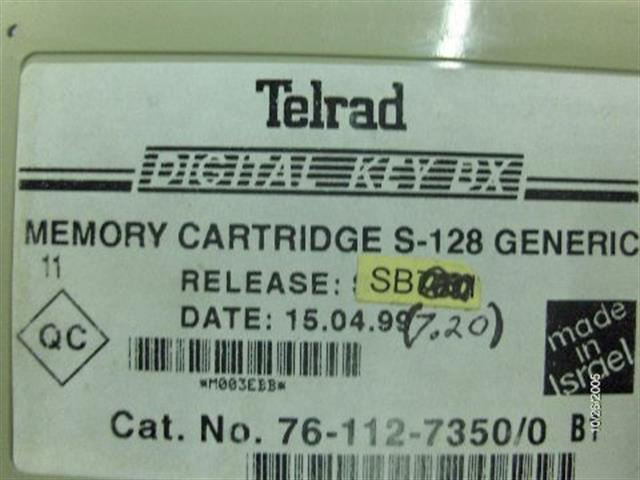 Telrad 76-112-7350 (Version 7.20) image
