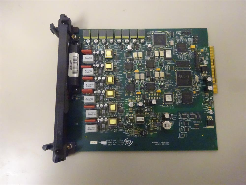 ESI CS-684 5000-0419 Plastic Bezel 6 Analog CO Line by 8 Digital Station by 4 Analog Station Circuit Card  for ESI200, ESI600 and ESI1000 Systems image