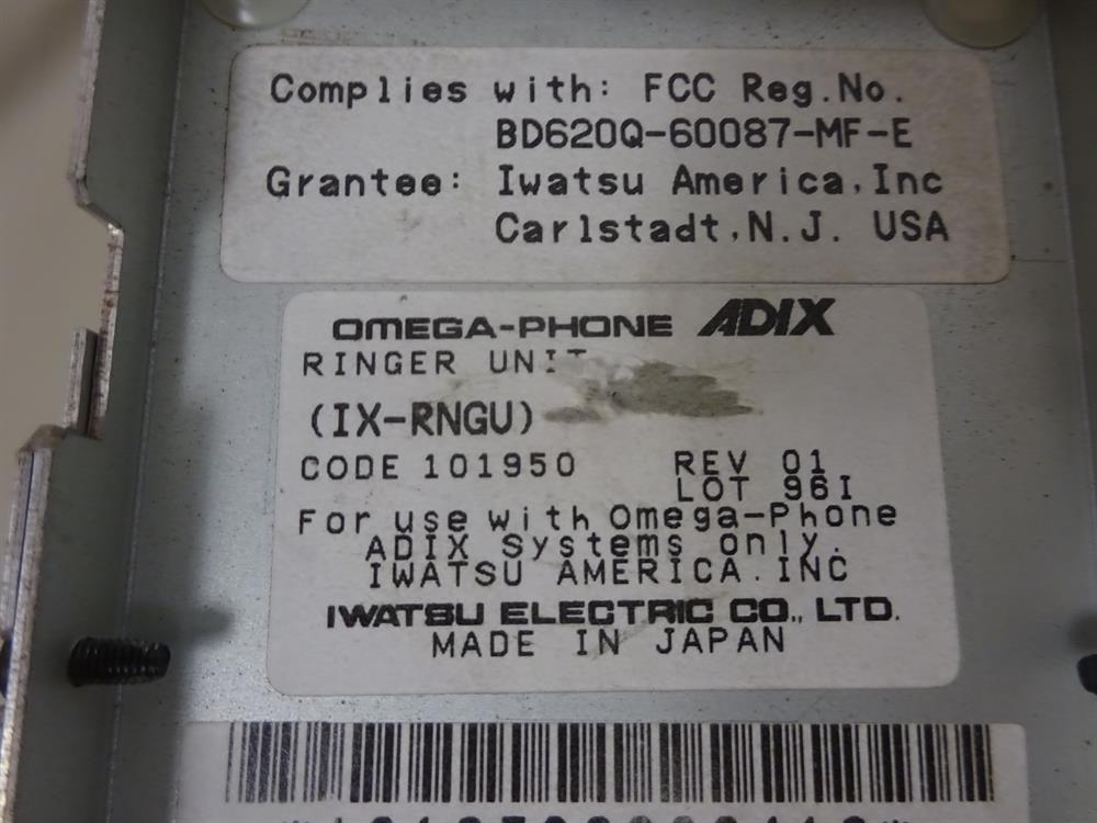 Iwatsu IX-RNGU / 101950 Circuit Card image