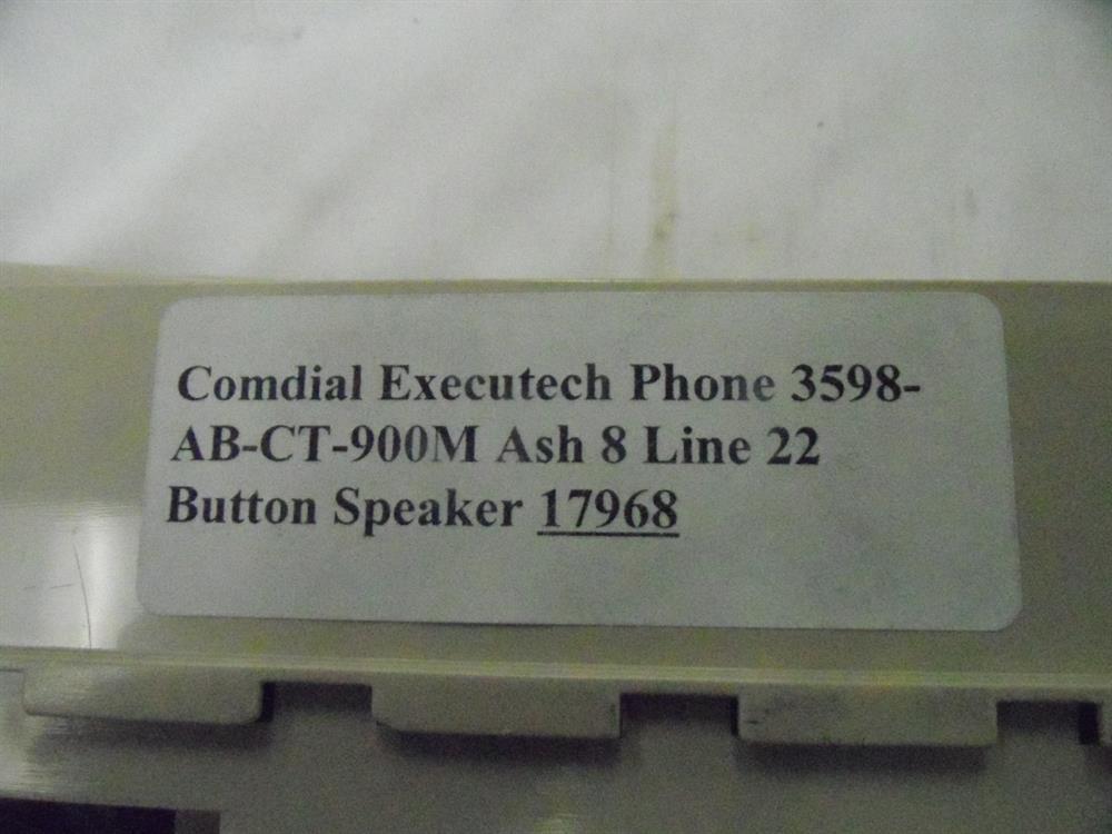 Comdial 3598-AB-CT-900M Phone image