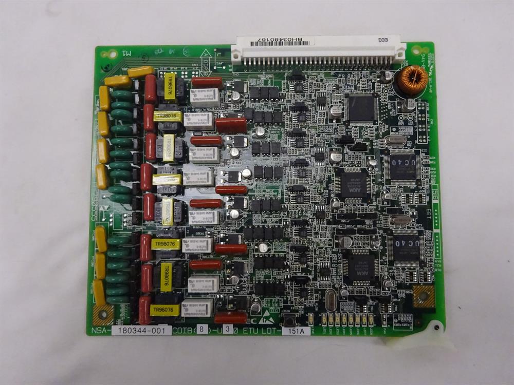 NEC COIB(8)-U30 / 750451 Circuit Card image