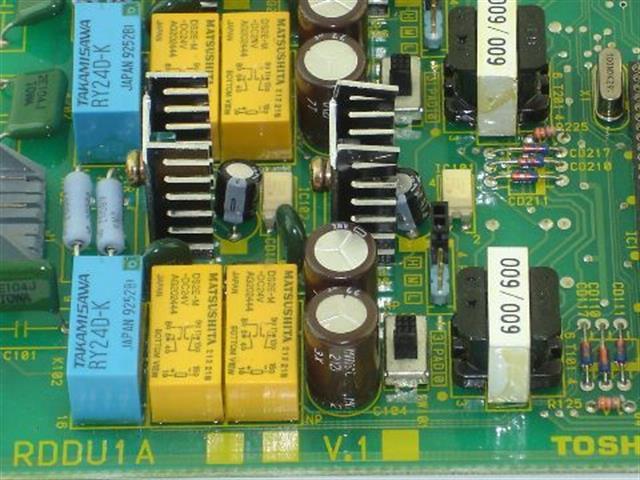 Toshiba RDDU1A Circuit Card image