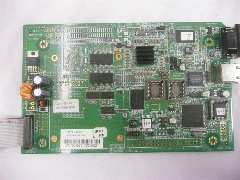 Iwatsu Omega Phone 924 OM-VML 700420 Voice Mail Circuit Card image