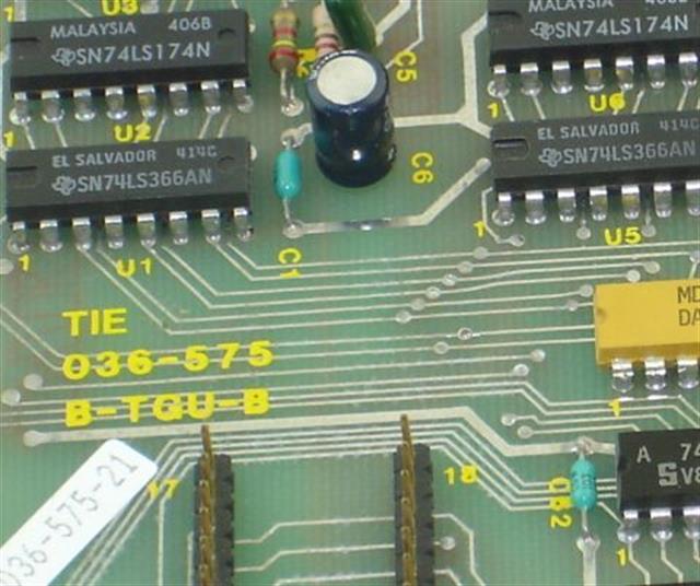 Tie B-TGU-B 86033 Circuit Card image