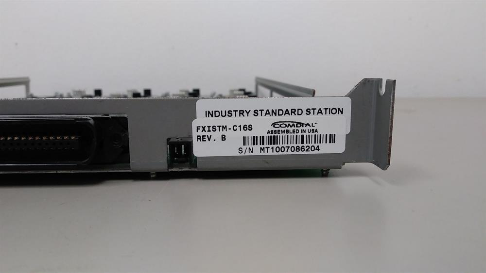 Vertical Communications Comdial FXISTM-C16S 16 Port Single Line Station Card image