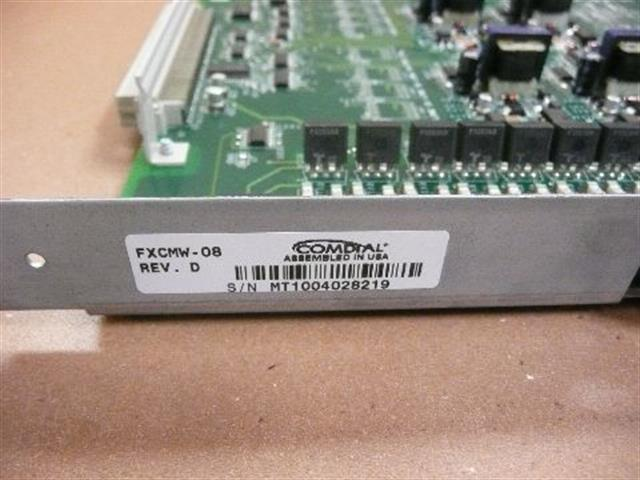 Comdial FXCMW-08 8 Port CO Line Card with Caller ID Support image