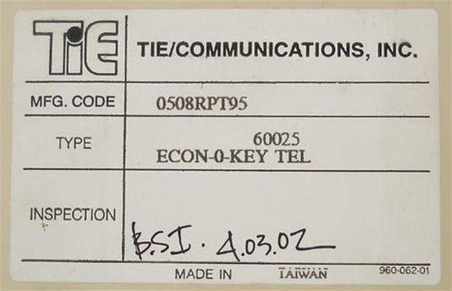 Tie 60025 (B Stock) Phone image