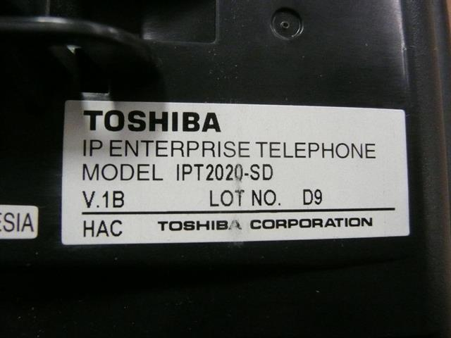 Toshiba IPT2020-SD 20 Button VoIP Telephone image