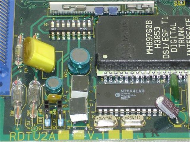 Toshiba RDTU2A V1 Circuit Card image