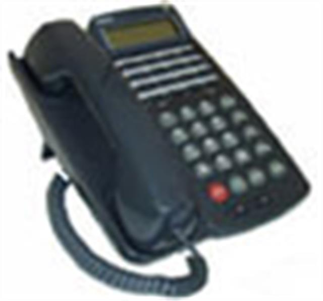 NEC Electra Professional ETW-16DC-2 730210 16 Button Electronic Telephone with Speakerphone and Display image