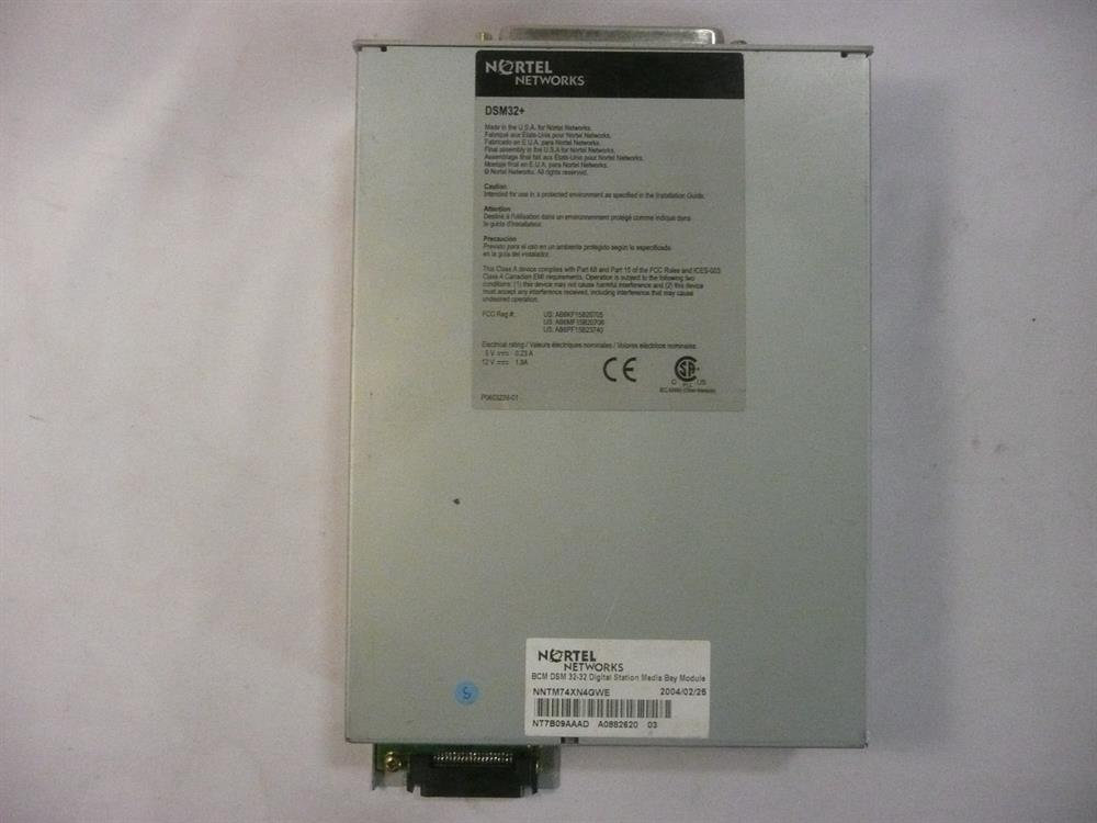 Nortel BCM NT7B09AAAD DSM32+ 32 Port Digital Station Module image