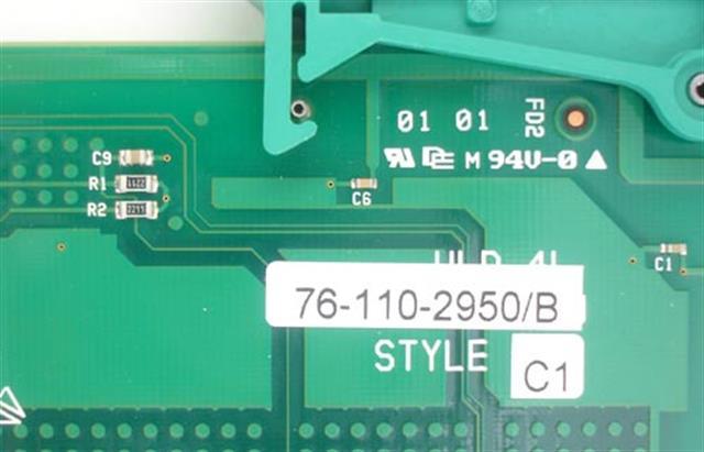 Telrad UHD 76-110-2950 8 Port Digital Circuit Card image