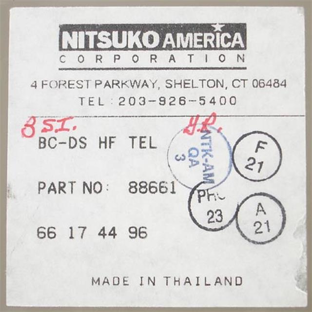 NEC - Nitsuko - Tie 88661 Phone image