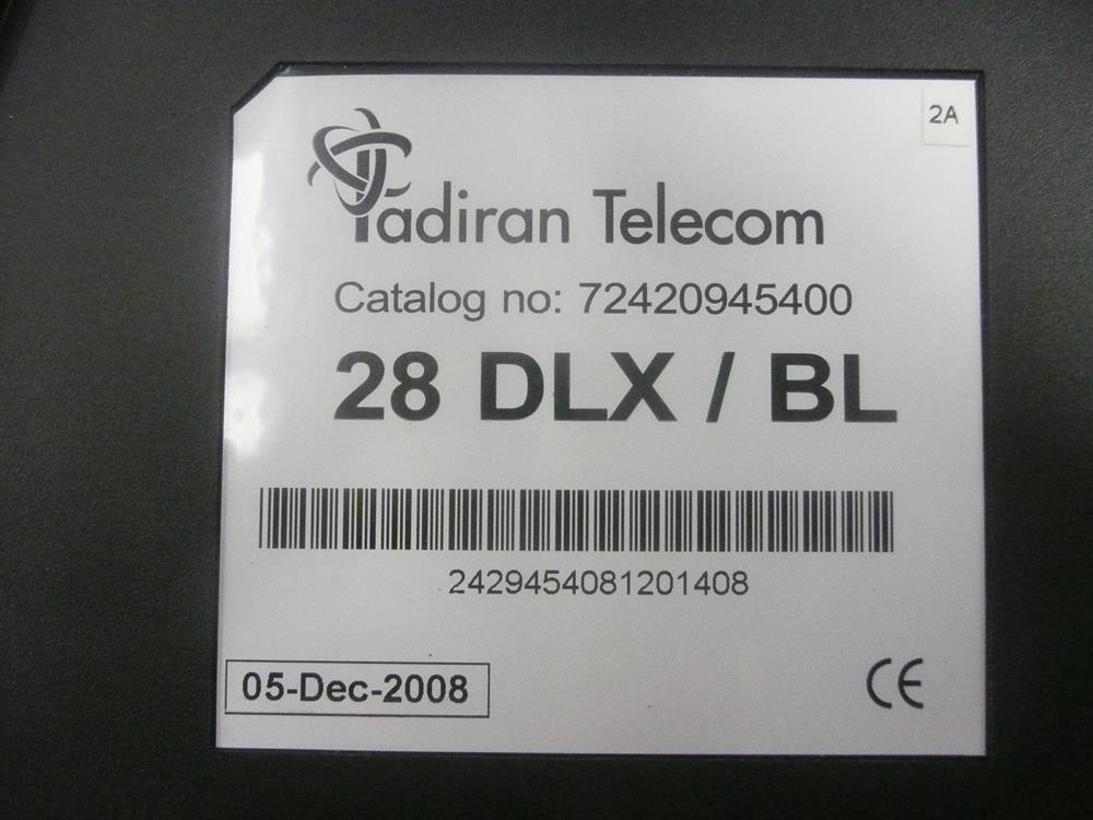 Tadiran Emerald ICE 28 DLX/BL 72420945400 28 Button Digital Telephone with Display and Speakerphone image