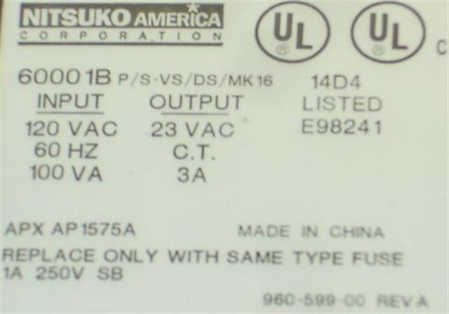 6000 1B NEC - Nitsuko - Tie image