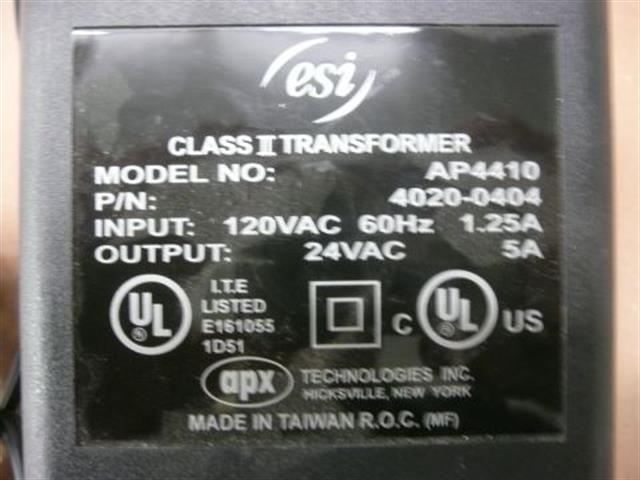 ESI 4020-0404 Power Supply image