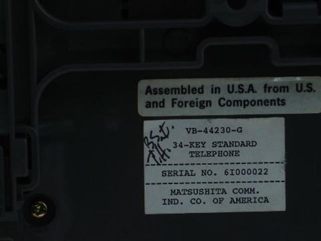 VB-44230-G Panasonic image