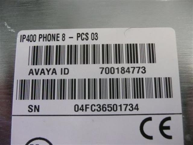 Avaya IP Office 400 Phone 8 V1 700184773 8 Port Analog Station (FXS) Module image