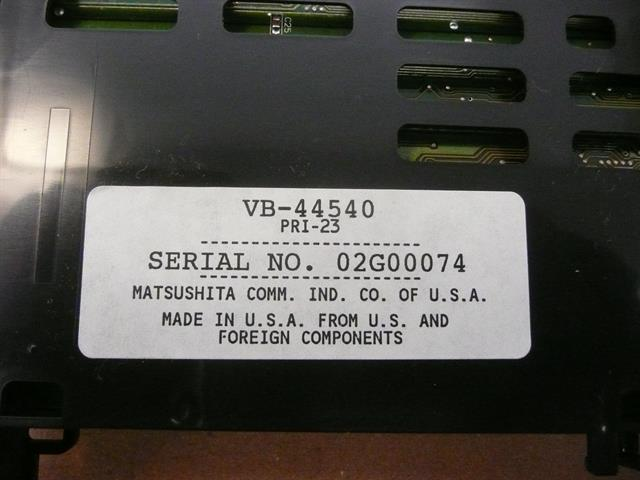 Panasonic DBS 576 VB-44540 ISDN-PRI Circuit Card image