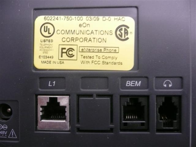 eON 6022D (602241-750-100) Phone image