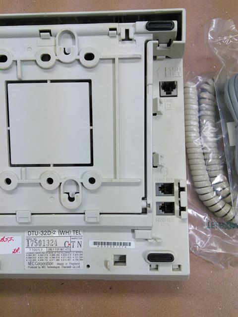 NEC DTU-32D-2 / 770053- White Phone image