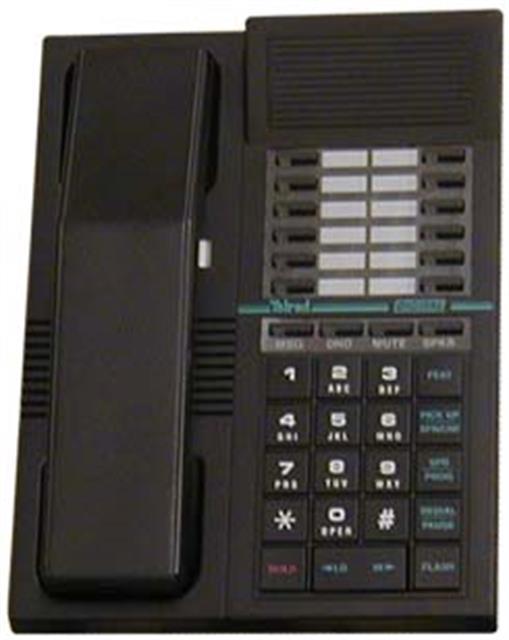 Telrad 79-420-0000 Black 12 Button Digital Telephone image