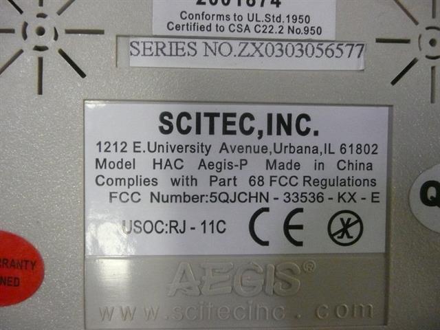 Scitec AEGIS-P Phone image
