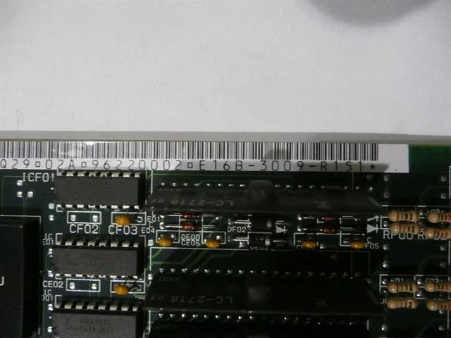 Fujitsu E16B-3009-R151 (B 16DL C) Circuit Card image