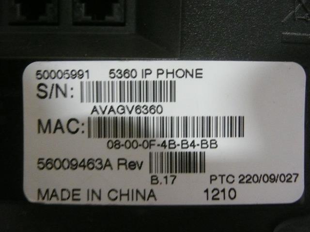 5360 (50005991) Mitel image